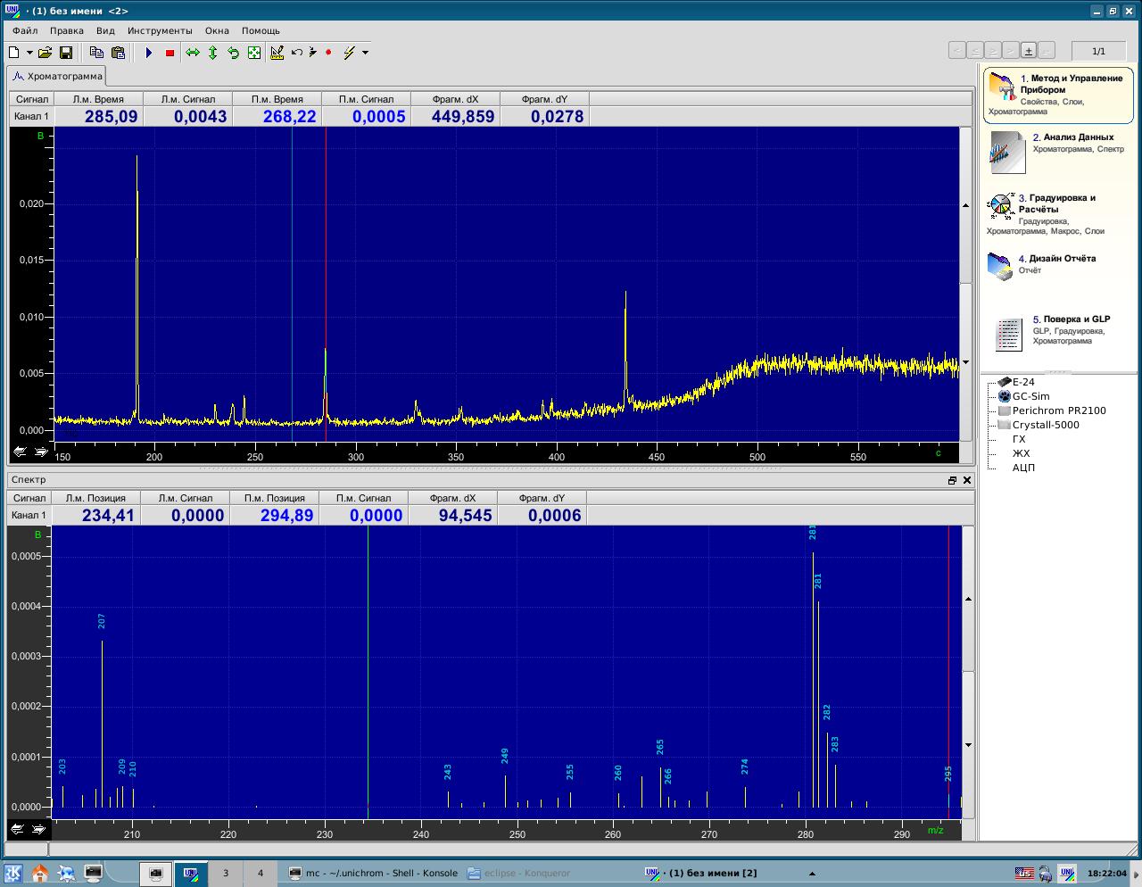 UniChrom - The Linux Chromatography Data System